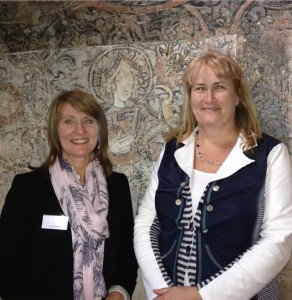 Alison Wright (left) and Karen Murphy, owners of Piccotts End's historic medieval cottages