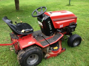 Lithuania-bound: My old Westwood mower