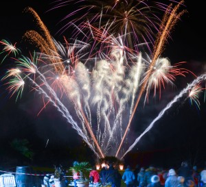 Piccotts End fireworks
