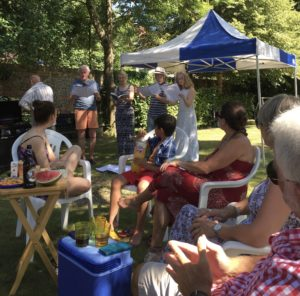 Piccotts End summer barbecue
